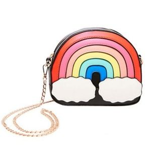 Betsey Johnson OVER THE RAINBOW CROSSBODY